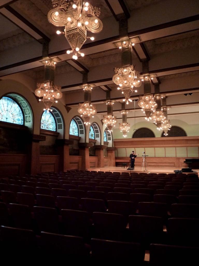 Roosevelt University, Ganz Hall